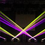 Beam 230 sử dụng trên sân khấu