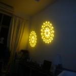 Gobo kép 2 vòng tròn đồng tâm