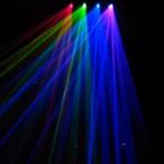 Hiệu ứng đèn laser quét tia 4 cửa