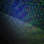 Hình chiếu đèn laser sân vườn 3 màu chiếu sao chấm bi VD005RGB