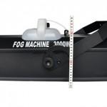 mặt bên và kích thước chiều cao của máy khói 3000W