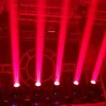 Chạy thử nghiệm đèn beam 230 loại mới
