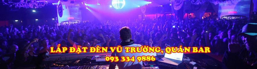 Lắp đặt đèn quán bar, vũ trường, DJ, Club