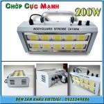 Đèn chớp LED 200W trắng