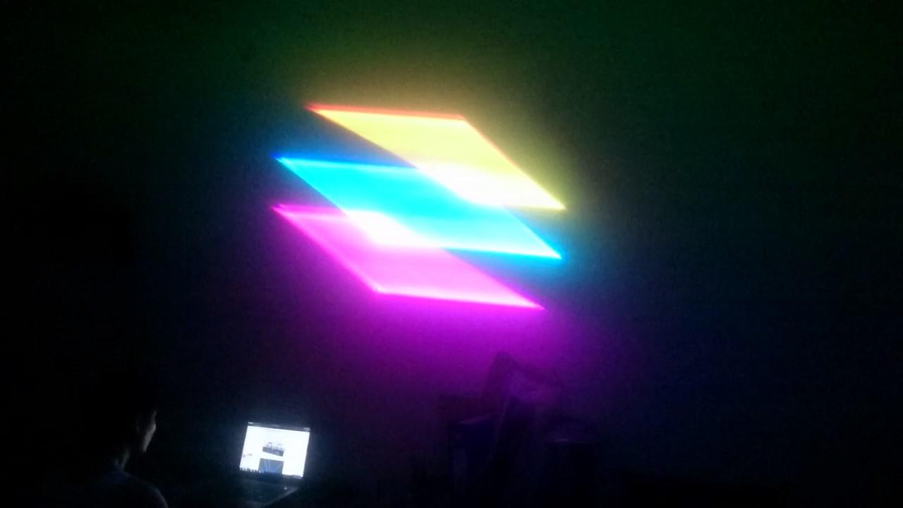 Hiệu ứng 3D của đèn