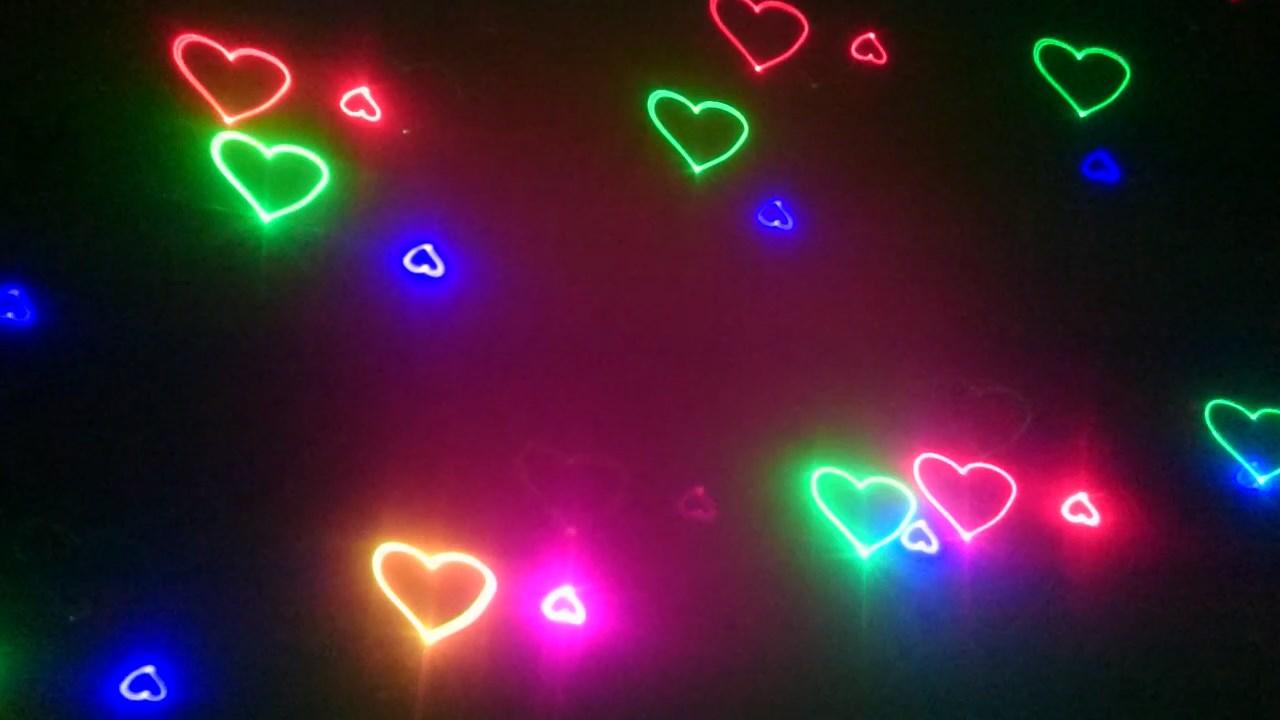 đèn Laser 7 Màu 5 Trong 1 Chiếu Hình động 3d Cho Vũ Trường