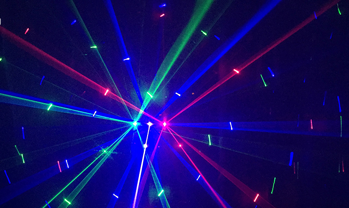 Hiệu ứng của đèn laser 3 của, 3 mắt