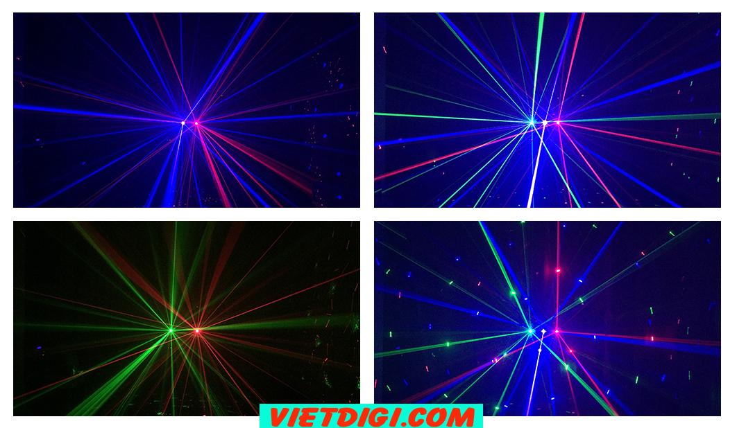 Đèn laser 6 mắt RGB ROMA