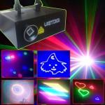 Đèn laser 7 màu 5 trong 1 chiếu hình động 3D và hiệu ứng
