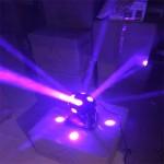 Chạy thử nghiệm đèn moving head ROTY 7 màu 12 mắt phối trộn màu sắc độc đáo