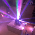 Chạy thử nghiệm đèn moving head ROTY 7 màu 12 mắt