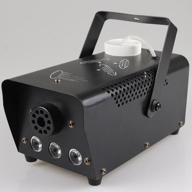 Mặt trước và ngang của máy tạo khói 400W LED