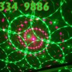 Hai màu xanh đỏ kết hợp của đèn laser mini