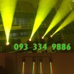 Chạy thử đèn moving 30W viền LED