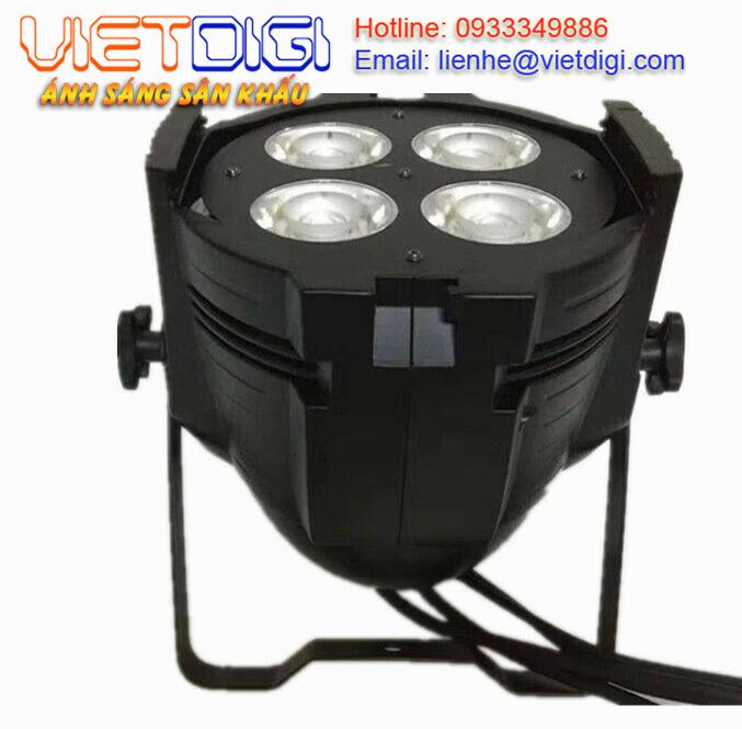 Mặt dưới của Đèn PAR LED COB 4x50W ánh sáng trắng