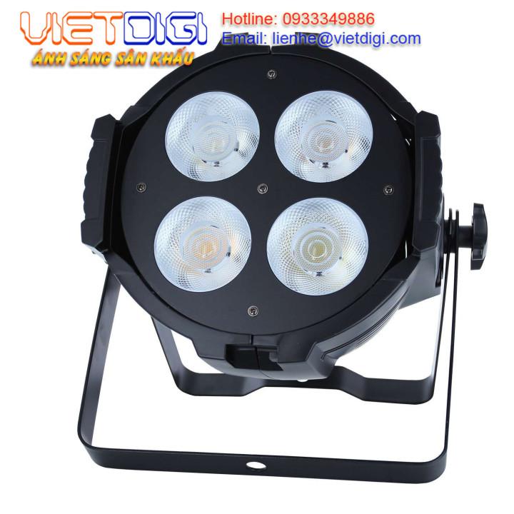 Đèn PAR LED COB 4x50W ánh sáng trắng