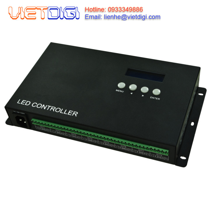 Bộ điều khiển Ethernet đèn LED full color ET-508