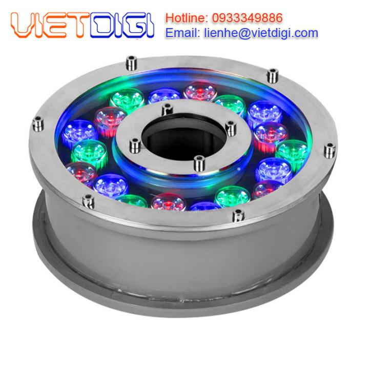 Đèn LED đổi màu âm nước 18W