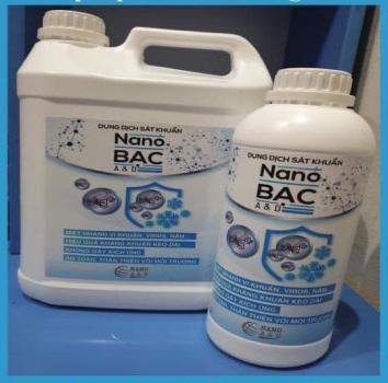 Can 5 lít nano bạc dùng cho máy phun khói khử khuẩn