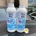 Chai nano bạc A&D 1 lít, chuyên dùng cho máy xông khói khử khuẩn